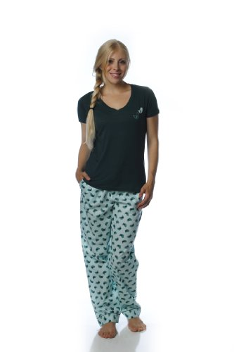 Cotton Poplin Lounge/Sleepwear Set