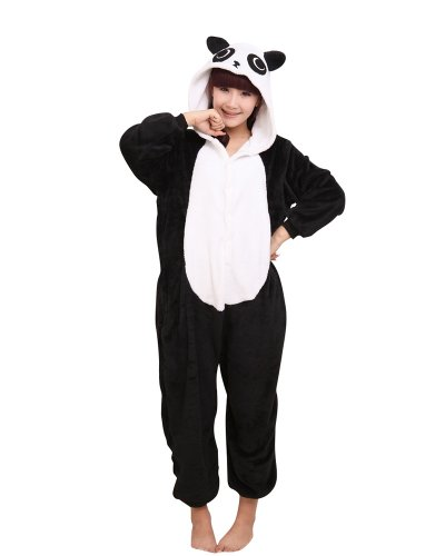 Animal Cosplay Pyjamas Costume Hoodie Party Dress Cosplay Panda