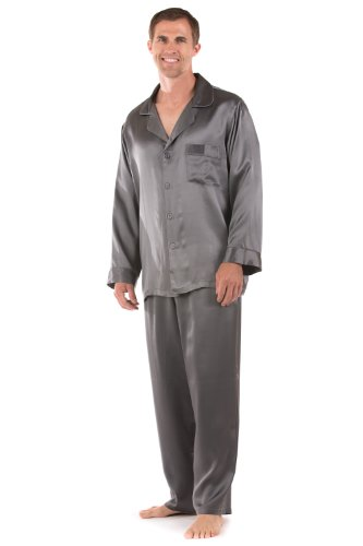 Men's Silk Pajamas Set Classic