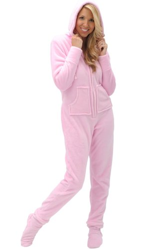 Del Rossa Microfleece Footed Pajamas