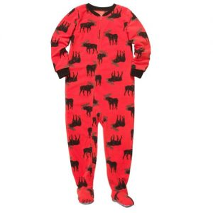 Fleece Footed Blanket Sleeper Pajamas