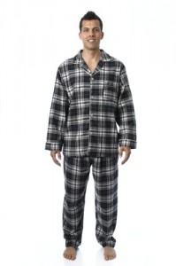 Flannel Pajama Sleepwear Set