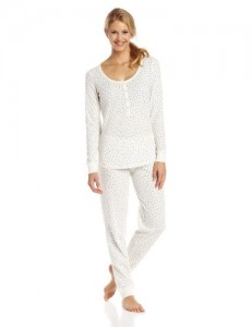 Women's Hanging Thermal Pajama Set