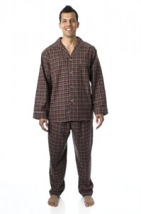 Mens Premium Flannel Pajama Sleepwear Set