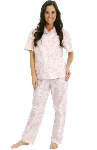 Cotton Short Sleeve Pj Set