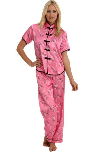 Satin Chinese Inspired Pajama Set