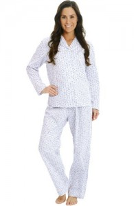 Cotton Long Sleeve Pj Set