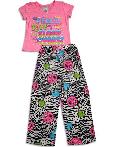 Girls Short Sleeve pajamas