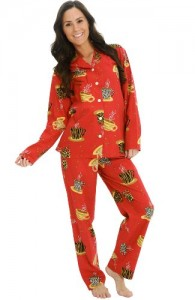 Cotton Lightweight Flannel Pj Set