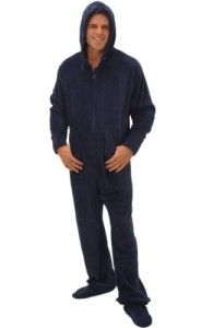 Microfleece Footed Pajamas