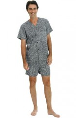 Men's Satin Pajama Set
