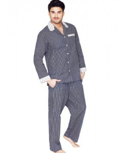 Cotton Full Length Mens Pyjama