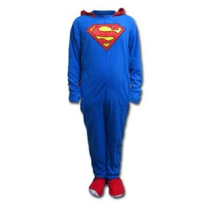 Fleece Onesie Footie Pajama with Cape