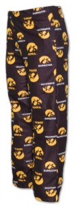 Adidas Iowa Hawkeyes Youth School Logo Pajama Pants