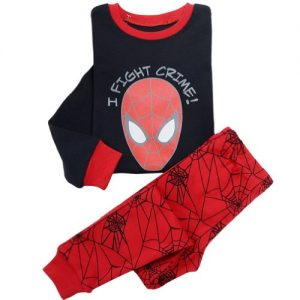 Boys Spiderman Pajama Sleepwear Outfits