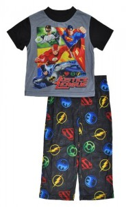 Justice League Spring Into Action Pajama Set for boys