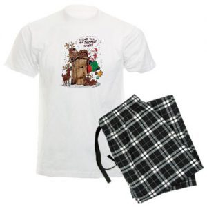 Men's Light Pajamas Santa Claus