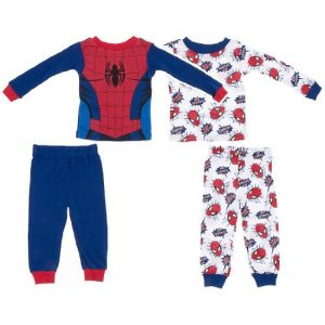 Marvel Kids Spiderman L/S PJ Set