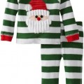 Mud Pie Baby-Boys Newborn Santa Lounge Set