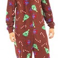 Men's Christmas Fun Hooded All in One Pyjamas Onesie