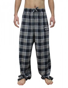 NFL Seattle Seahawks MENS Cotton Plaid Sleepwear Pajama Pants 2XL Multicolor