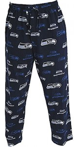 Seattle Seahawks Mens Navy Insider Pajama Pants by Concepts Sports