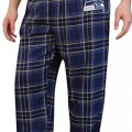 Warm Home Mens Seattle Seahawks Lounge Plus Size Pajama Pants