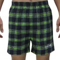 NFL Seattle Seahawks MENS Plaid Sleepwear Pajama Shorts M Multicolor