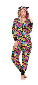 Pink Women's Plus Size Warm and Cozy Plush Onesie Pajama
