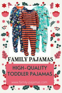 High-Quality Toddler Pajamas