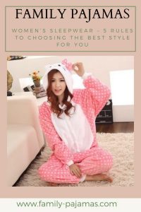 Women's Sleepwear – 5 Rules to Choosing the Best Style for You